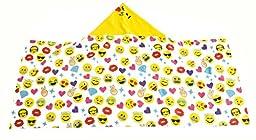 Emoji Pals Bling Girls Hooded Towel - Kids