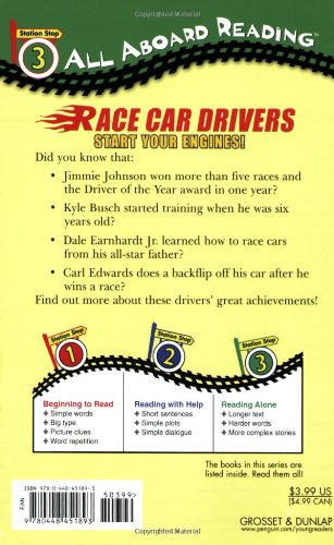 Race Car Drivers: Start Your Engines! (All Aboard Reading)