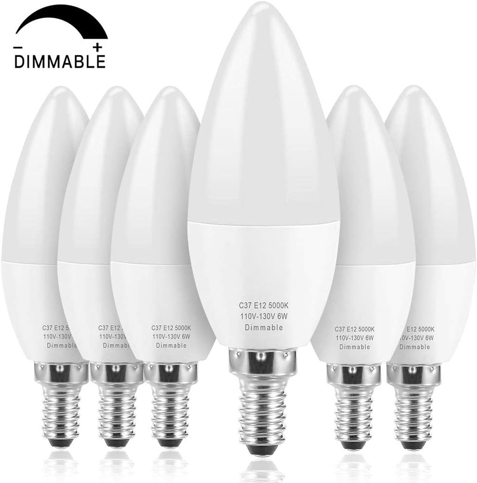 15 X 4W CANDLE LIGHT BULBS LED LAMPS WARM WHITE DAY LIGHTCHANDELIER LAMPS