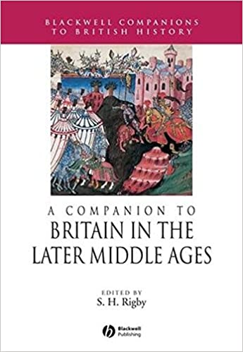 A Companion to Britain in the Later Middle Ages (Blackwell Companions to  British History)  Amazon.co.uk  S. H. Rigby  9781405189736  Books f89589486