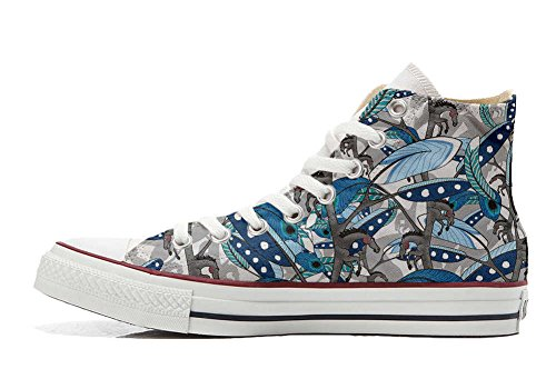 Converse All Star Customized - Zapatos Personalizados (Producto Artesano) Horse Feathers