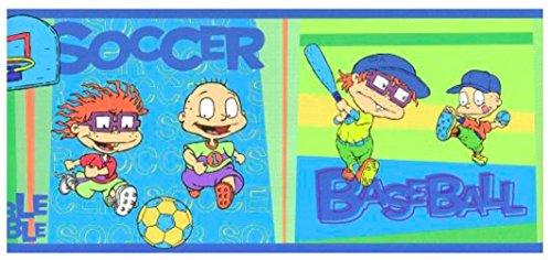 (Nickelodeon Rugrats Children's Bedroom Sports Wallpaper Border)