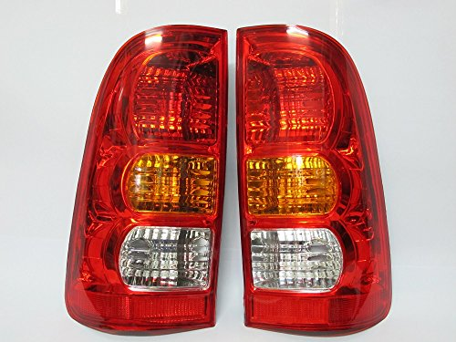 2xtail Light Lamp for Toyota Hilux Vigo Sr5 Mk6 2005 -2011 Original Style Standard Color