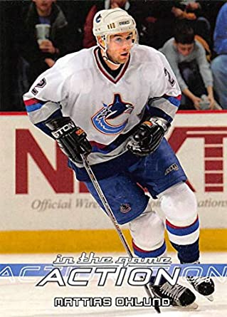 2003-04 In The Game Action Hockey  565 Mattias Ohlund Vancouver Canucks 9bbb396a3
