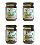 """The Tapas Sauces"" Salsa Verde ( Parsley and Garlic Sauce ) Pack of 4 / 6.35 oz Glass Jar"