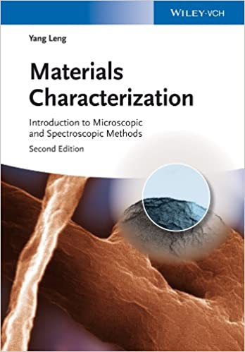 Read Materials Characterization: Introduction to Microscopic and Spectroscopic Methods PDF, azw (Kindle)