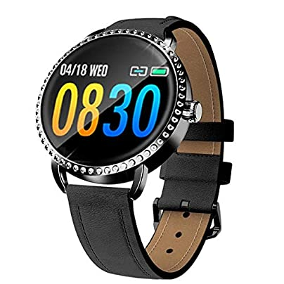 ZHLYQ Smart Wristband Women S Smart Watch Sports Bracelet Waterproof Activity Fitness Tracker Heart Rate Bluetooth Estimated Price £61.98 -