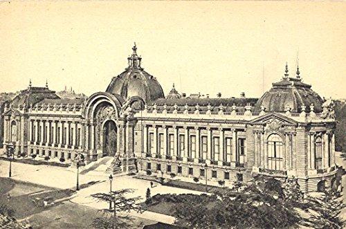 1910 Vintage Postcard - Le Petit Palais - The Little Palace - Paris France
