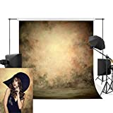 Professional Texture Photography Backdrop Allenjoy 5x7ft Old MasterVintage Yellow Oil-Painting Pattern Modern Backdrops Portrait Photography Decoration