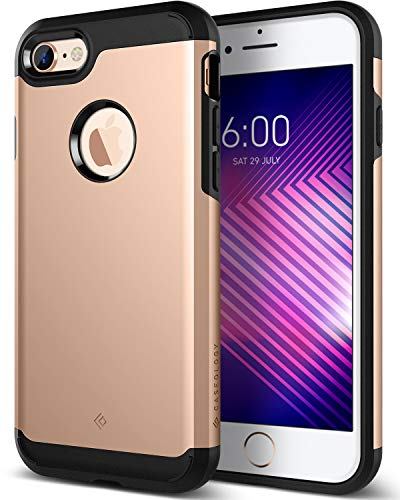Caseology Legion for iPhone 8 Case (2017) - Reinforced Protection - Copper Gold