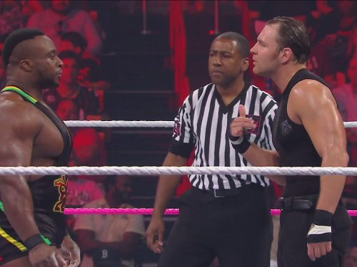 Big Match - United States Championship Match: Dean Ambrose Vs Big E. Langston