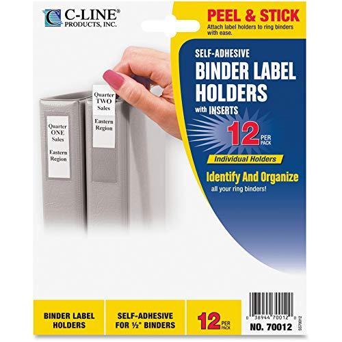 Label Binder Self Adhesive (C-Line® Self-Adhesive Ring Binder Labels for 1/2