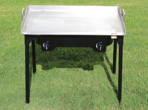CONCORD 32 x 17 Stainless Steel Flat Top Griddle Grill w/...