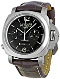 Panerai Men's PAM00311 Luminor 1950 8 Days Chrono Monopulsante GMT Titani Chronograph Watch