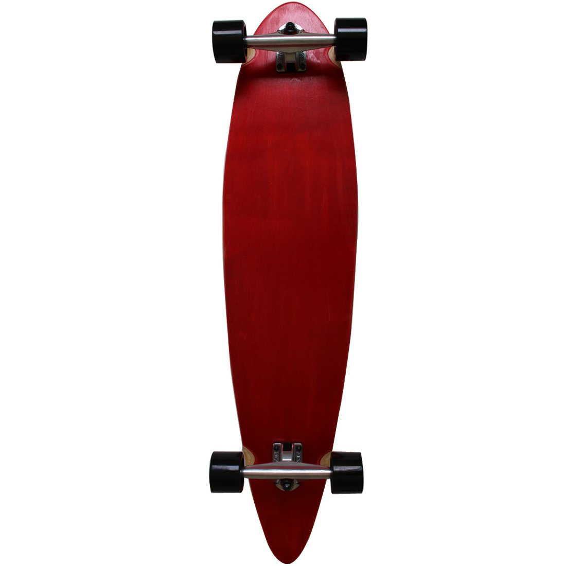 RIMABLE Stained Pintail Longboard REDBLACK
