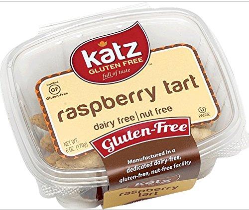 Katz Gluten Free Raspberry Tart, 6 Ounce, Certified Gluten Free - Kosher - Dairy & Nut free (Pack of 1)