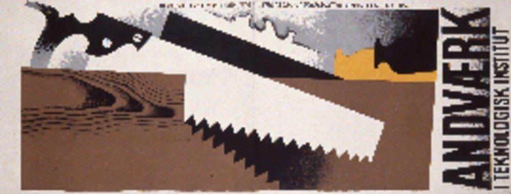 andvaerk I Teknologisk Institutヴィンテージポスター(アーティスト: Andersen )デンマークC。1930 36 x 54 Giclee Print LANT-74859-36x54 36 x 54 Giclee Print  B01MPZS2UJ