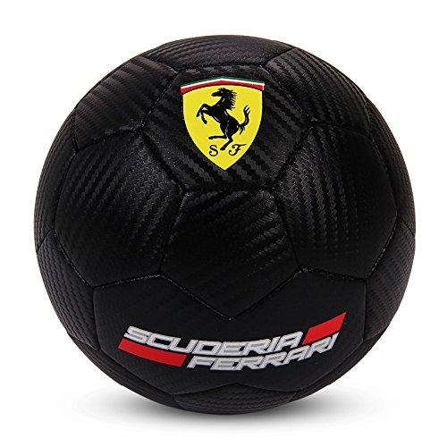 Mesuca Soccer Footballサイズ2 PUミニボールおもちゃギフトfor Kids & Adultコレクションフェラーリ B07D12H28P ブラック ブラック