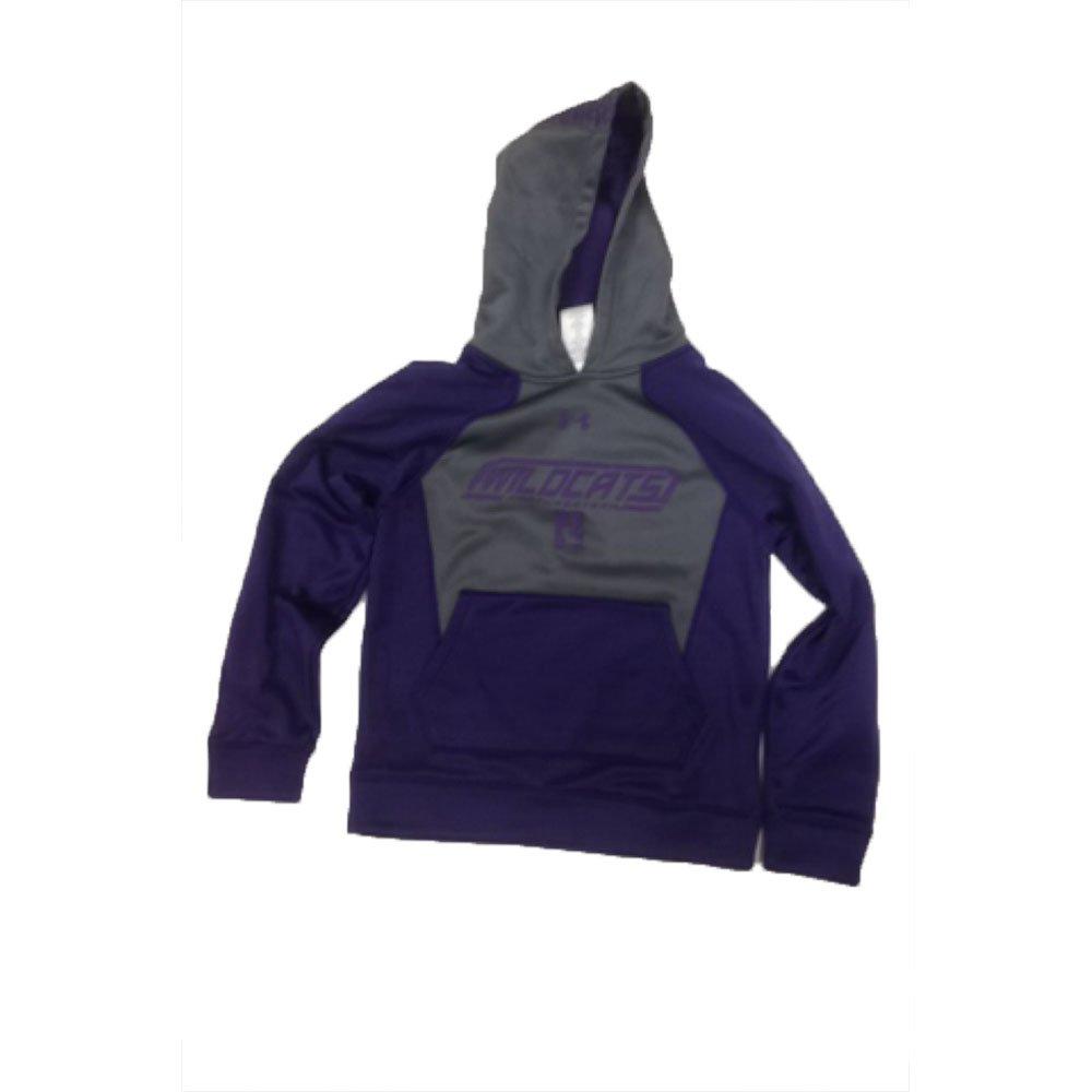 Under Armour Northwestern Wildcats Youth Charcoal//Purple Sweatshirt XS