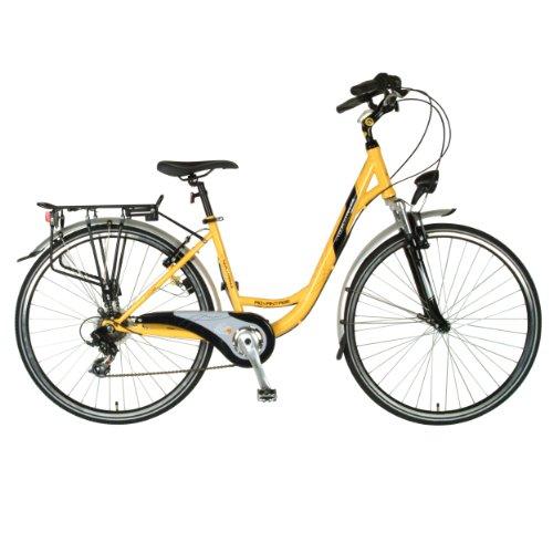 Tour de France Advantage Bicycle (Yellow/Black, 700C X 43 cm)
