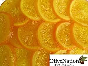 OliveNation Dried Orange Slices, Glazed. 8 oz
