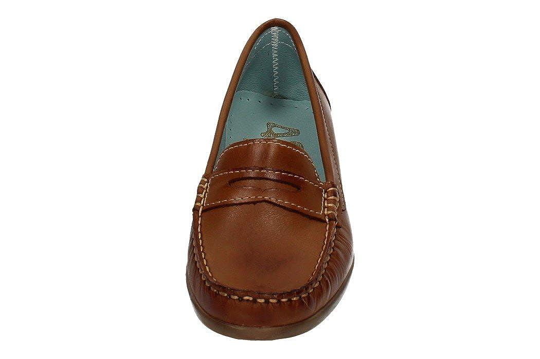 24695f7d 48 HORAS 713021/12 Mocasines DE Piel Mujer Zapatos MOCASÍN Brandy 40:  Amazon.es: Zapatos y complementos