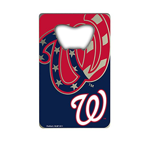 - MLB Washington Nationals Credit Card Style Bottle Opener