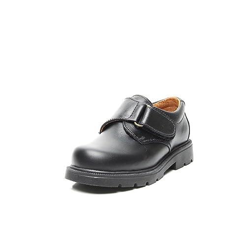 Zapatos Germen 2003 - Zapato Piel Velcro Negro, color negro, talla 38