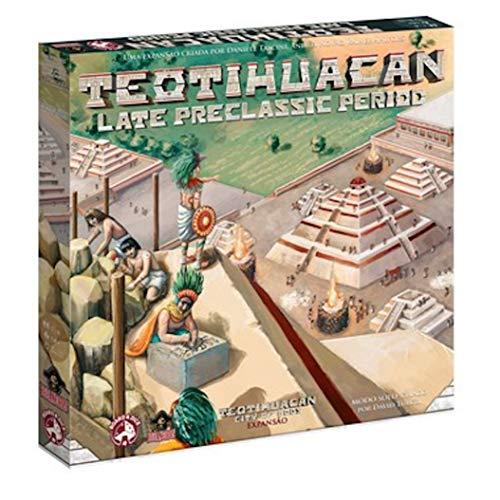 Teotihuacan: Late Preclassic Period (+ Promos Inclusas) Bucaneiros Jogos Colorido