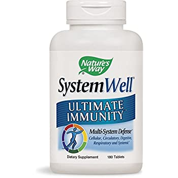 Nature's Way SystemWell Immune System, 180 Tablets
