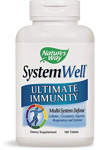 Nature's Way SystemWell Immune System, 180 Tablets 240 Tabs Natures Way