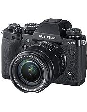 Fujifilm X-T3 Mirrorless Digital Camera w/XF18-55mm F2.8-4.0 R LM OIS Lens, Black
