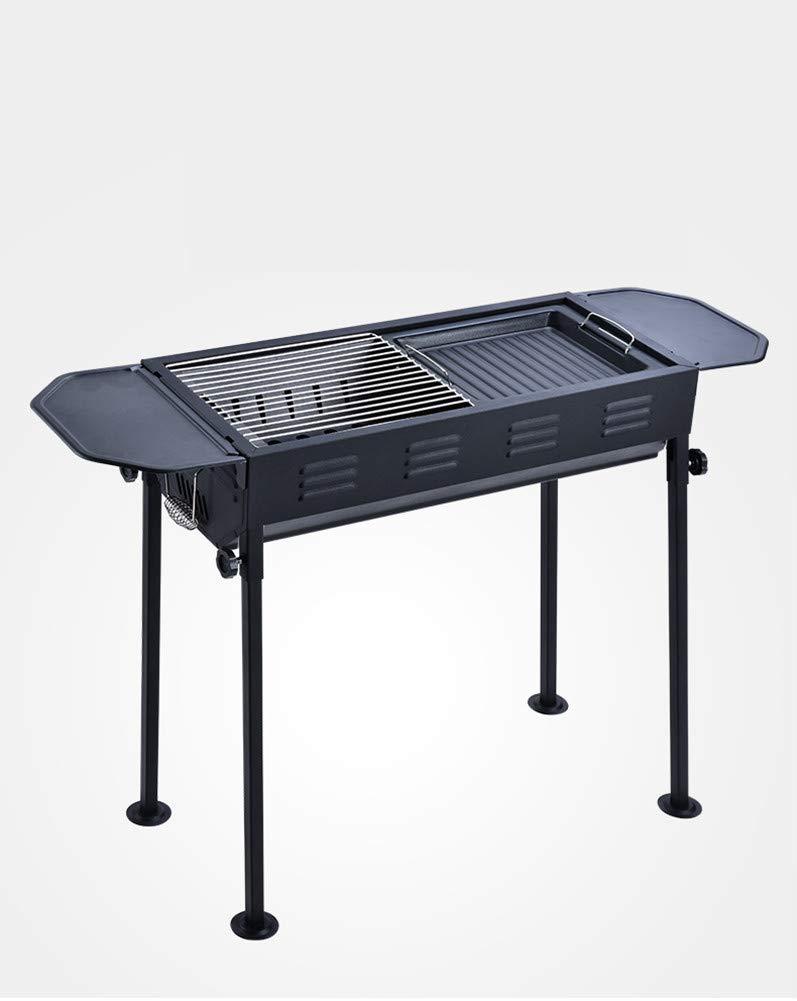 MIRUIKE BBQ Grill Carbone Barbecue Griglie per Giardino all'aperto Cortile Cucina Campeggio Spiaggia