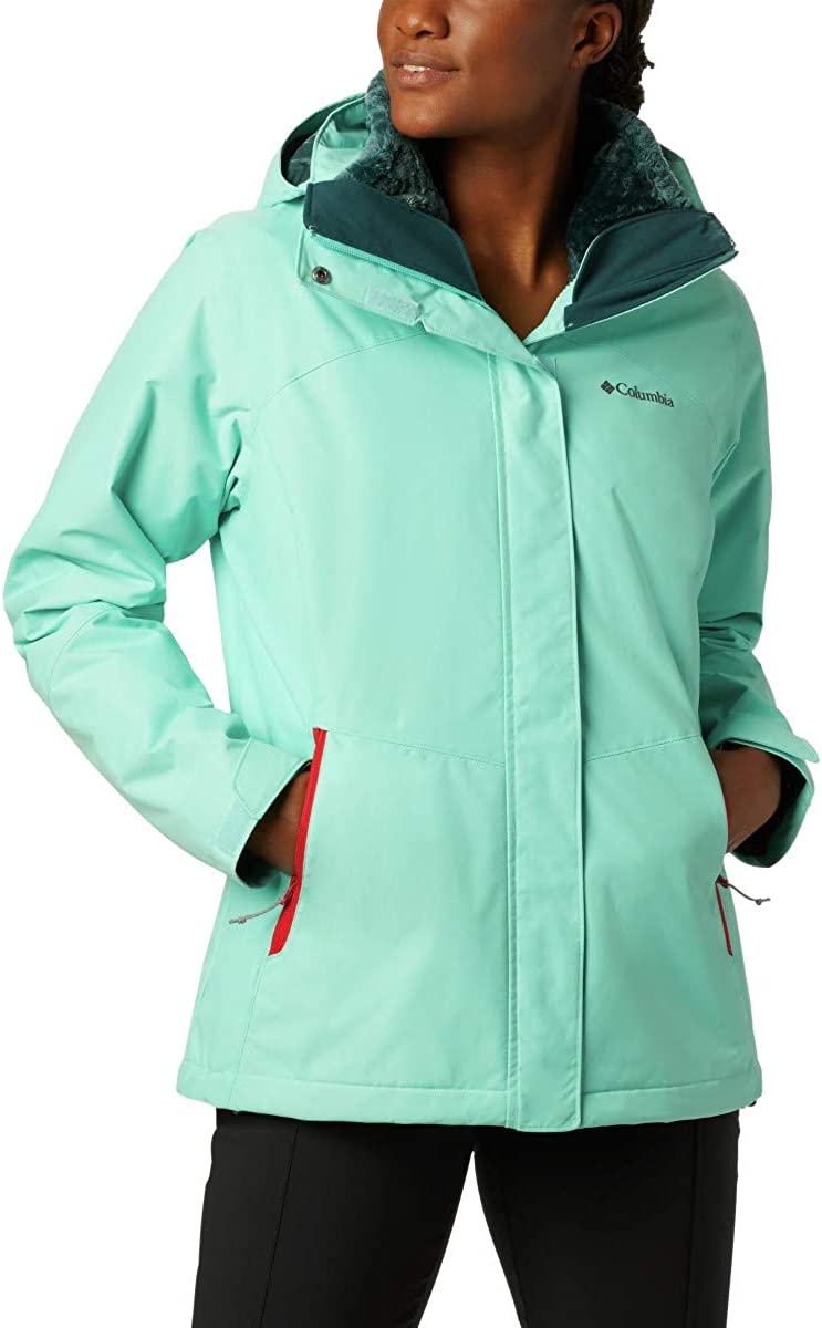Columbia Womens Extended Bugaboo II Fleece Interchange Jacket