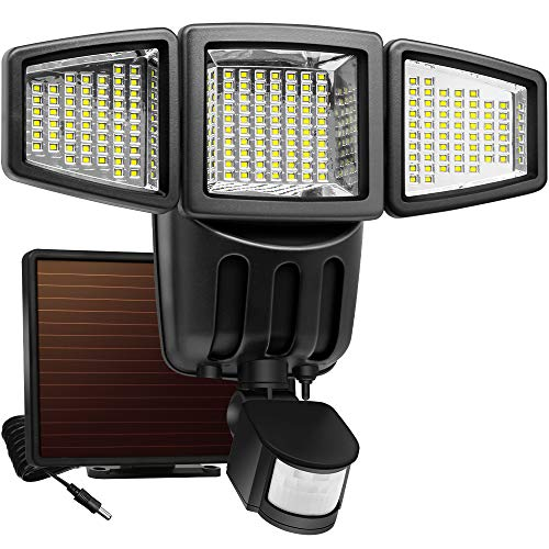 Solar Powered Motion Security Light in US - 2