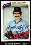 1980 Topps # 54 Dennis Lamp Chicago Cubs (Baseball Card) Dean's Cards 6 - EX/MT Cubs