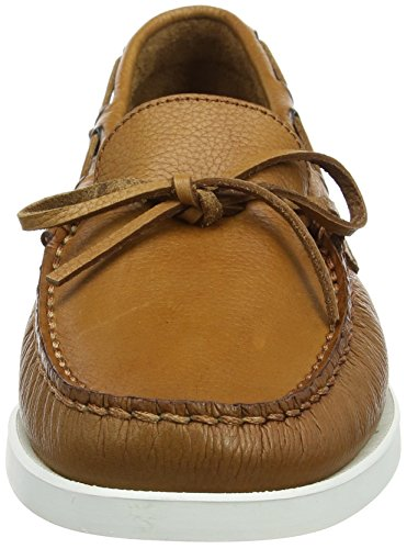 Hackett London Lace Docksider, Náuticos Para Hombre Marrón (Tan)