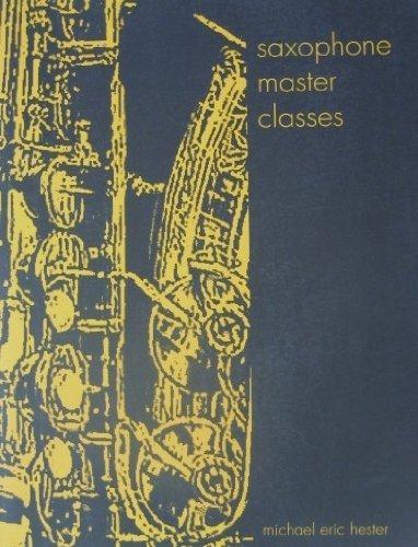 Download Saxophone Master Classes pdf