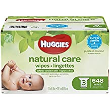 Huggies Natural Care Toallitas Húmedas, Repuesto, 1, 1