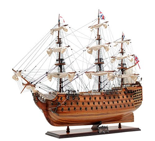 Hms Victory Wood Model Ship - Old Modern Handicrafts HMS Victory Collectible, Medium