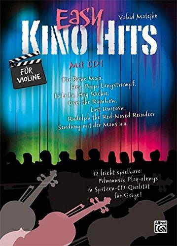 Easy Kino Hits für Violine (mit CD)