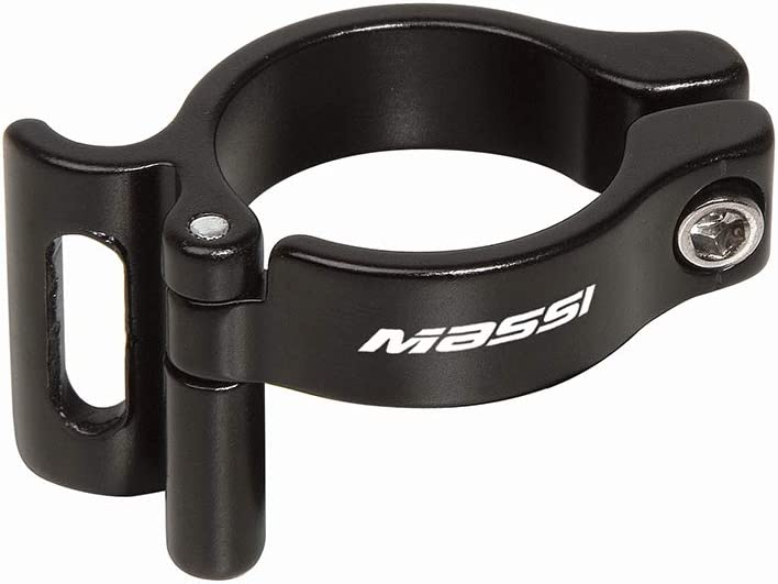 Schelle f/ür Umwerfer MASSI zum Anl/öten Schwarz Durchmesser 28,6 mm