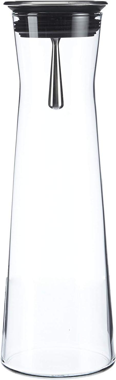 Bohemia Cristal 093 006 103 - Jarra (1100 ml, vertedor de Acero Inoxidable)