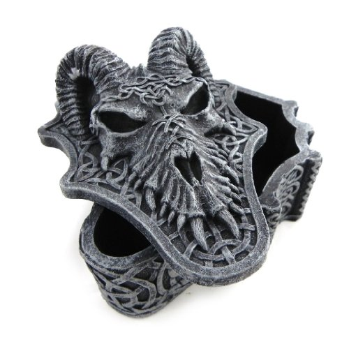 Jewellery box 'Dragon Mystique' gray.