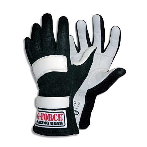 G-Force 4101XXSRD G5 Red XX-Small Junior Racing Gloves by G-FORCE Racing Gear
