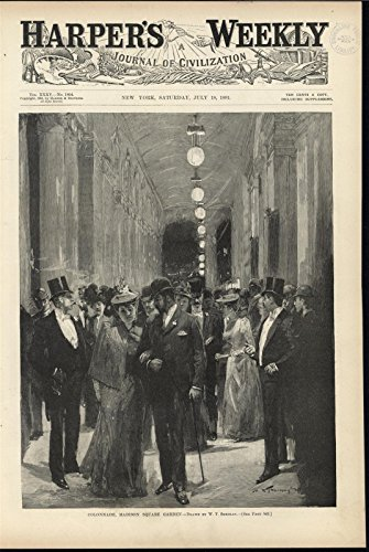 Colonnade Madison Square Garden New York City Fashionable Beautiful Woman - Map Colonnades