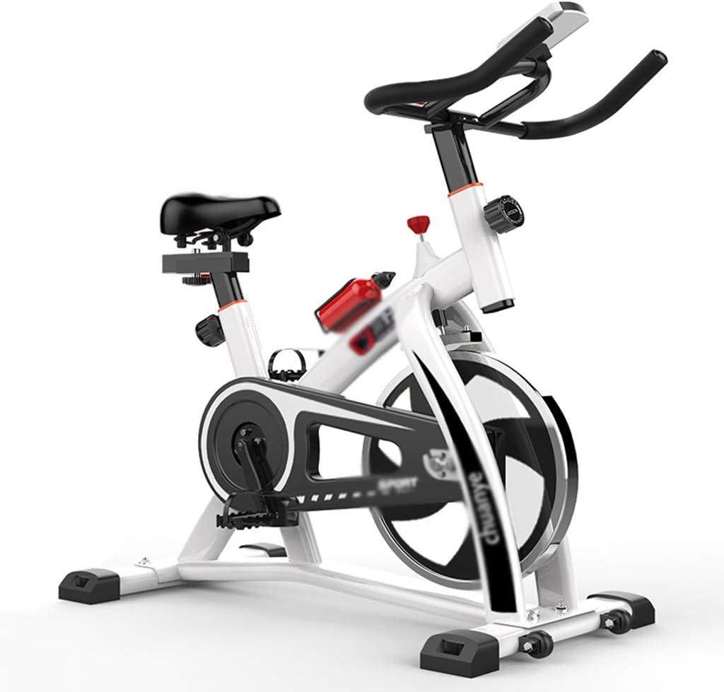 Zhiniu Bicicleta de Ejercicio del hogar, Bicicleta de Spinning Ejecutar Bicicleta de Interior Movimiento de la Bicicleta Perder Peso de la Aptitud del Equipo 101 * 49 * 116CM (Color : Rojo):