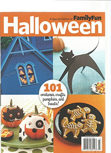 FAMILY FUN MAGAZINE SPECIAL EDITION HALLOWEEN -