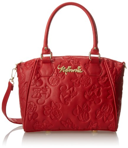 Disney Minnie Mouse Red Embossed Purse by Loungefly
