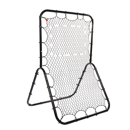 OUTCAMER Baseball Rebounder Pitch Back Net Practice Pitching, Throwing and Fielding with Adjustable Target by OUTCAMER